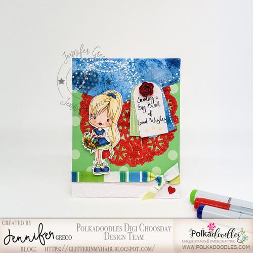 "Holly flower basket- ""precoloured"" digital papercrafting download"