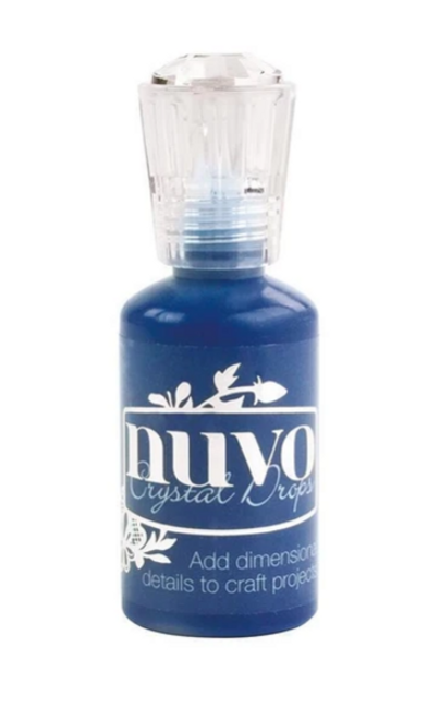 Nuvo Crystal Drops- Gloss- Midnight Blue