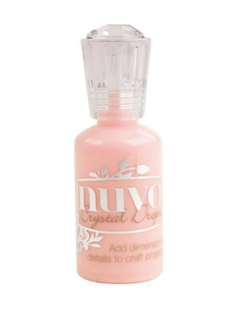 Nuvo Crystal Drops- Gloss- Bubblegum Blush