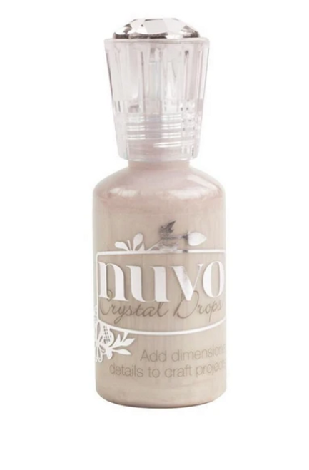 Nuvo Crystal Drops- Antique Rose