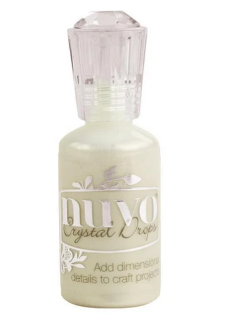 Nuvo Crystal Drops- Ivory Seashell
