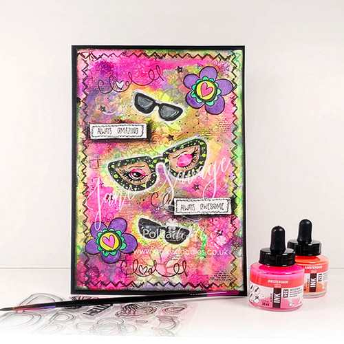 See the Flowers -  Clear Polymer stamp set
