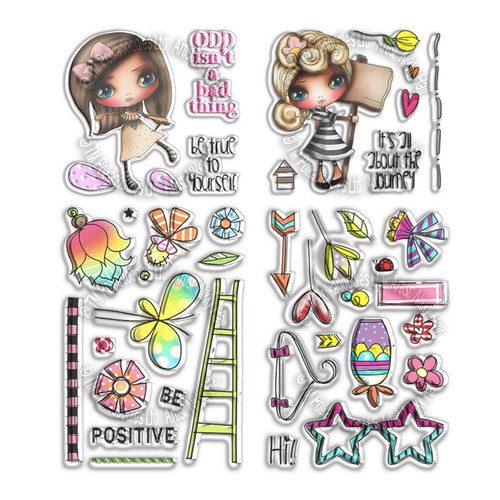 Positive Journey Stamp Collection
