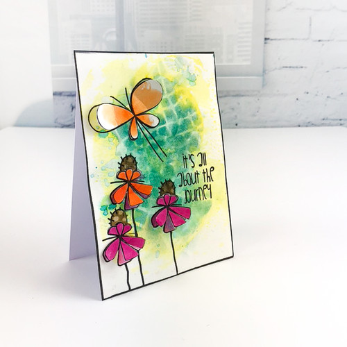 Reach High -  Clear Polymer stamp set