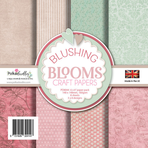 Blushing Blooms Paper Pack