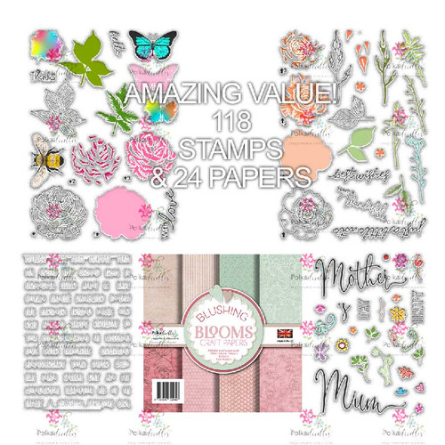 All About the Girls Stamp & Paper Collection