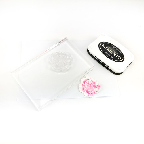 Large Acrylic Stamping Block 100mm x 150mm