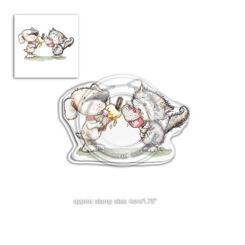 Horace & Boo Delicious Day - clear Stamp set