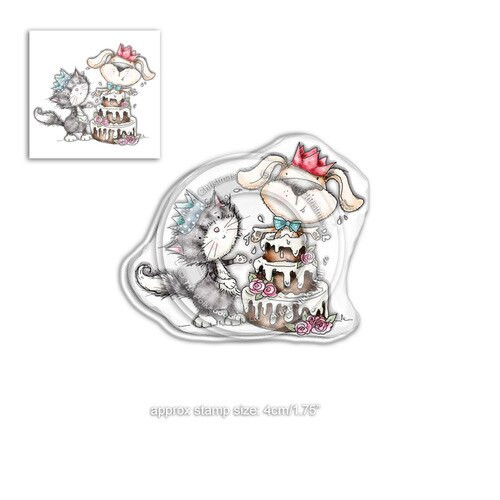 Horace & Boo Surprise - clear Stamp set