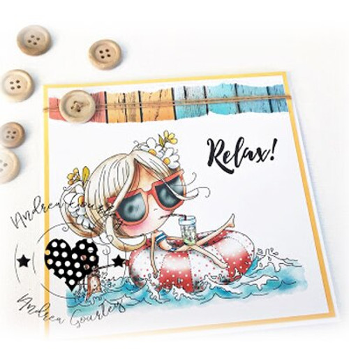 WINNIE RELAX - Clear Stamp