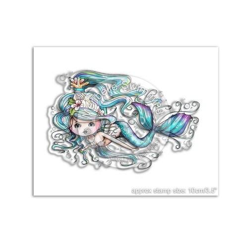 MERIBELLE SWIMMING - Clear Stamp