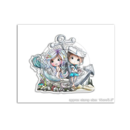 MERIBELLE YOU'RE MY ANCHOR - Clear Stamp