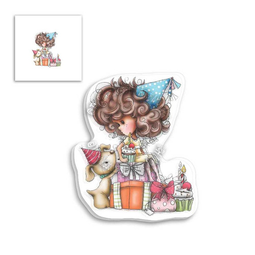 Winnie Clear Stamp - Pile of Gifts