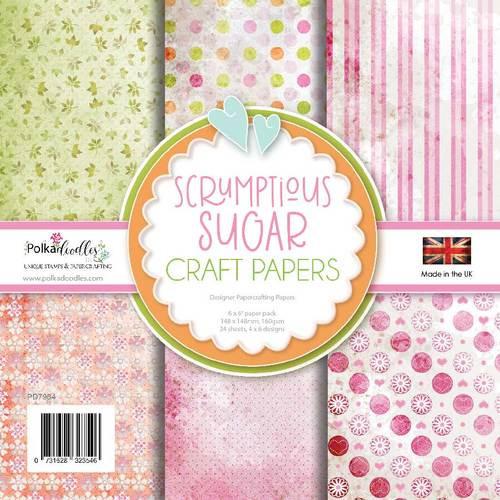 """Sugar Scrumptious 6 x 6"""" paper pack"""