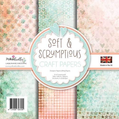 """Soft & Scrumptious 6 x 6"""" paper pack"""