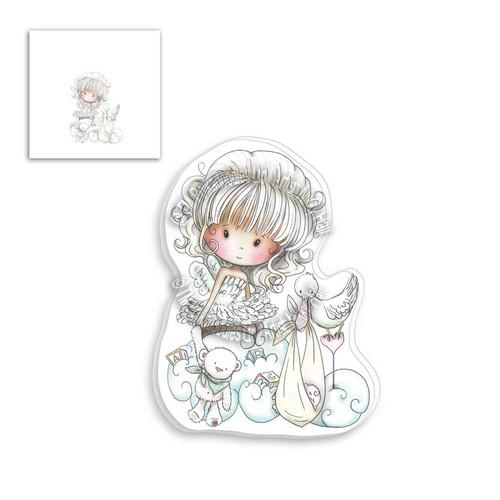 Winnie Clear Stamp - New Baby