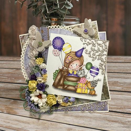 Winnie Clear Stamp - Boo