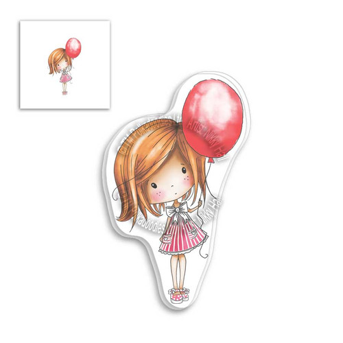 Winnie Clear Stamp - Balloon