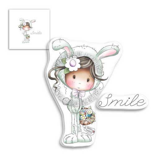 Winnie Clear Stamp - Spring Smile