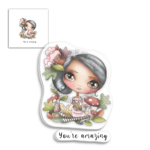 January Clear Stamp - You're Amazing