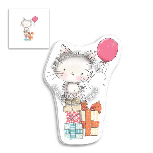 Fuzzypuffs Jasper Balloon - clear Stamp set