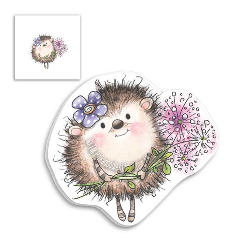 Fuzzypuffs Earlie Bouquet - Clear Stamp Set