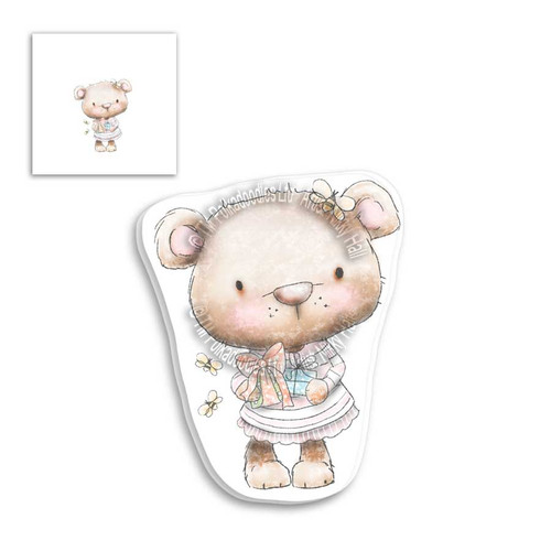 Fuzzypuffs Bella Gift - Clear Stamp Set