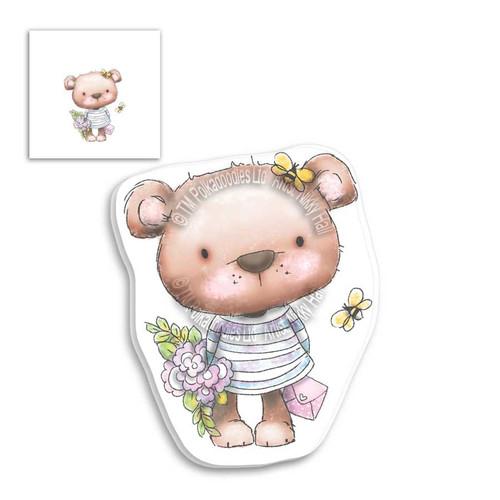 Fuzzypuffs Bella Bouquet - Clear Stamp Set