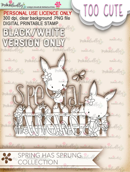 Special Wishes - Printable Digital download (DLPD8086)