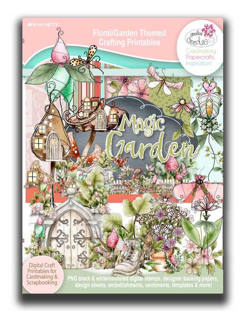 Magic Garden Soup printable download collection