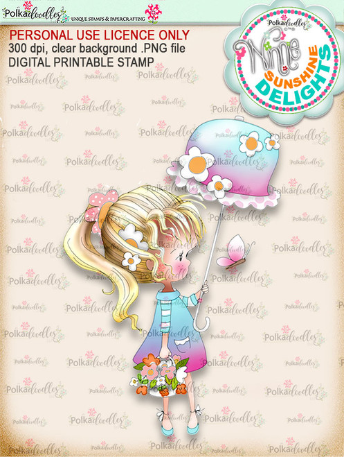 Sunshine Delight (COLOUR) - Winnie Sunshine Delights digi scrap printable download