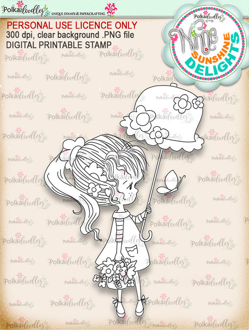 Sunshine Delight - Winnie Sunshine Delights digi scrap printable download