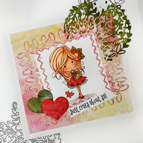 Sunshine Delight Bouquet (COLOUR) - Winnie Sunshine Delights digi scrap printable download