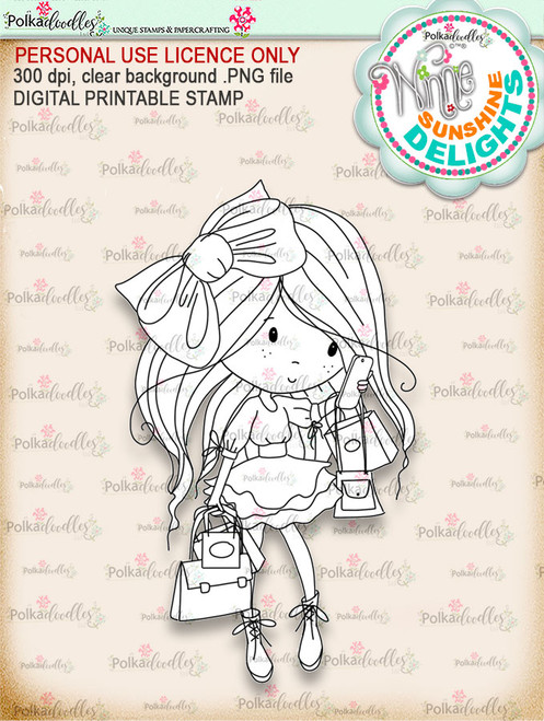 Sunshine Delight Busy - Winnie Sunshine Delights digi scrap printable download
