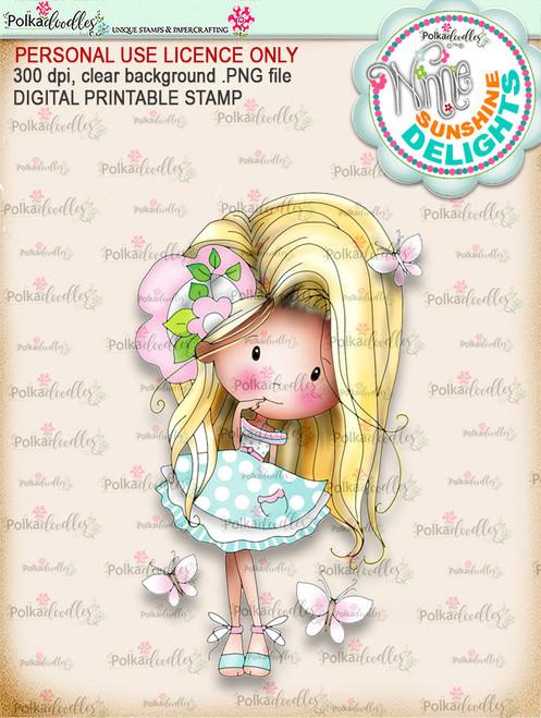 Sunshine Delight Cheeky (COLOUR) - Winnie Sunshine Delights digi scrap printable download