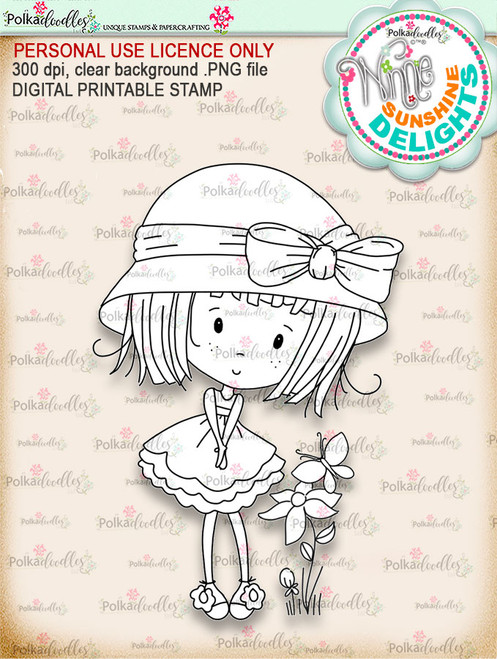 Sunshine Delight Cutest - Winnie Sunshine Delights digi scrap printable download