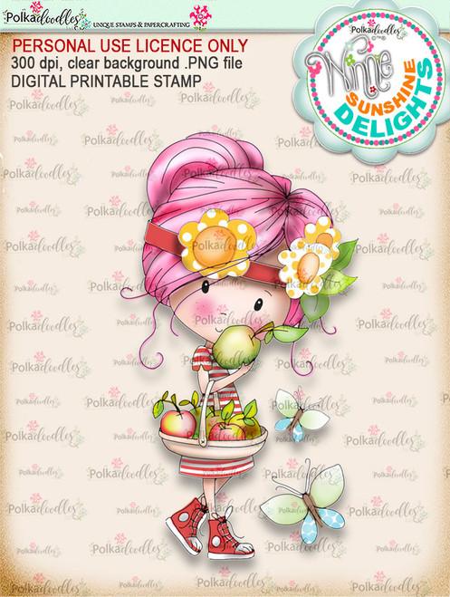 Sunshine Delight Delicious (COLOUR) - Winnie Sunshine Delights digi scrap printable download