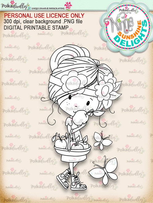 Sunshine Delight Delicious - Winnie Sunshine Delights digi scrap printable download