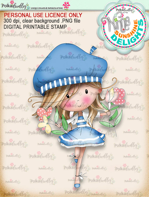 Sunshine Delight Happy Days (COLOUR) - Winnie Sunshine Delights digi scrap printable download