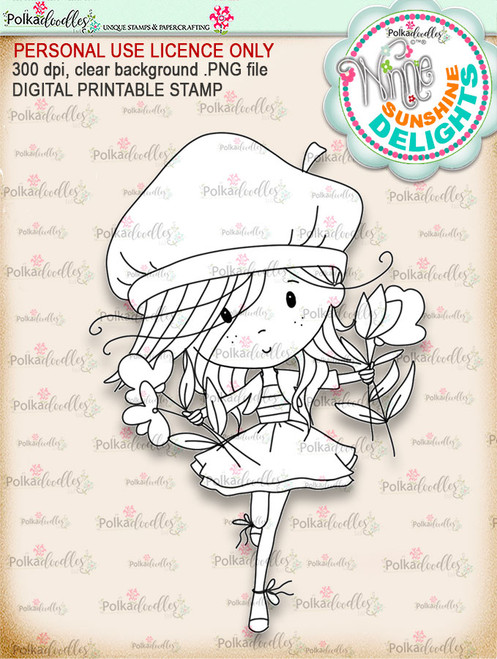 Sunshine Delight Happy Days - Winnie Sunshine Delights digi scrap printable download