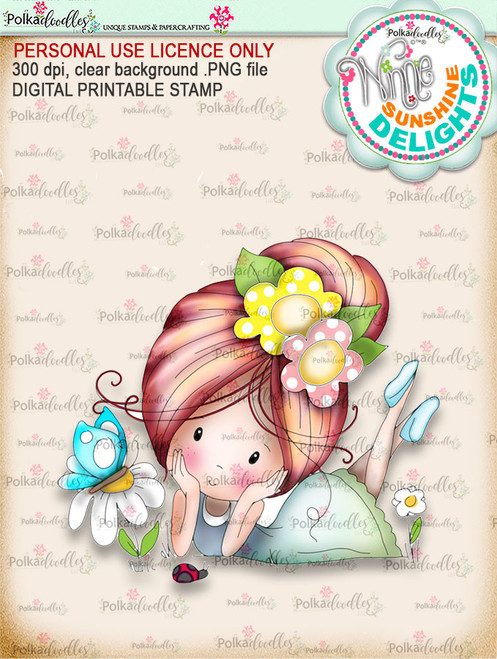 Sunshine Delight Little Friends (COLOUR) - Winnie Sunshine Delights digi scrap printable download