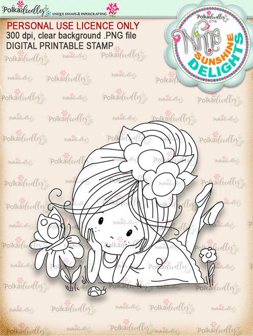 Sunshine Delight Little Friends - Winnie Sunshine Delights digi scrap printable download