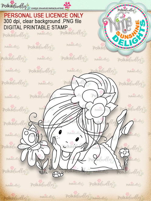 Sunshine Delight Little Friends - Winnie Sunshine Delights digi scrap printable download