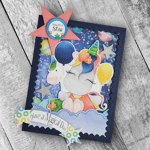Special Time - Sparkle Unicorn digi stamp download