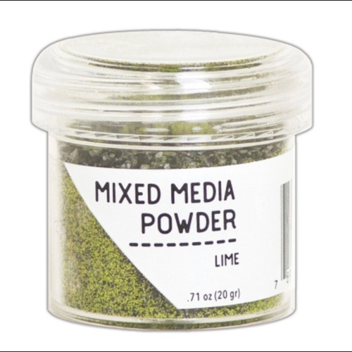 Lime Mixed Media Embossing Powder - Ranger (EPM64022)