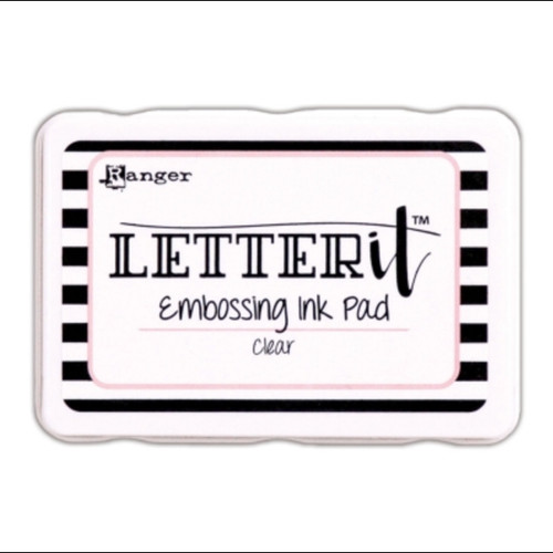 Letter It Clear Embossing Ink pad - Ranger (LEI58809)