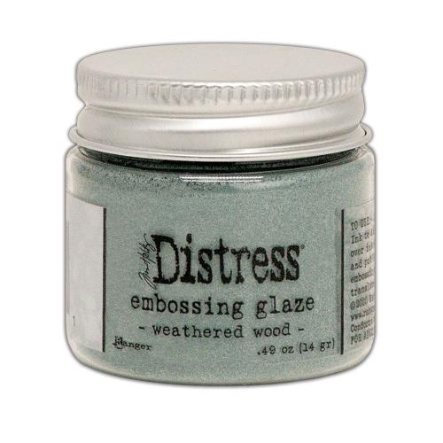 Distress Embossing Glaze - Weathered Wood