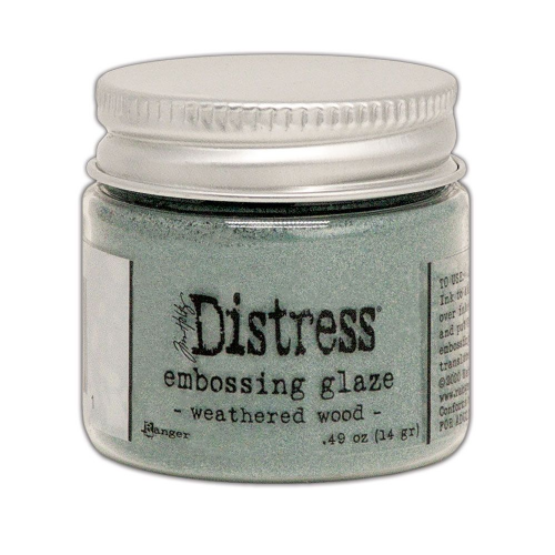 Distress Embossing Glaze - Weathered Wood