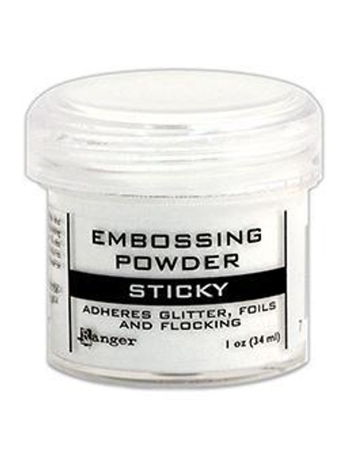 Sticky Embossing Powder, 1oz Jar