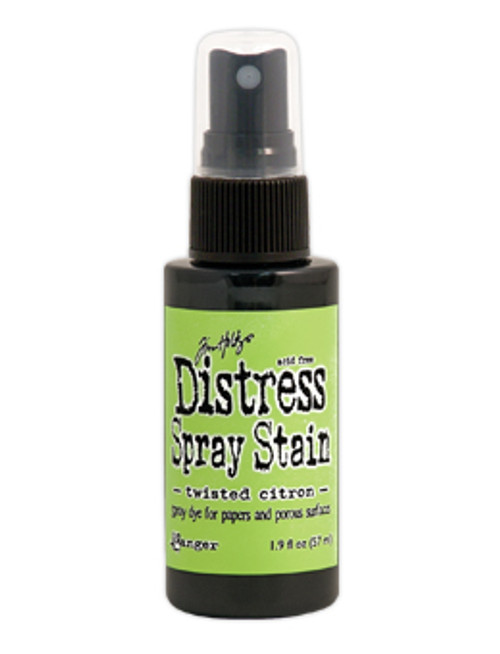Tim Holtz Distress Stain Spray ink - Twisted Citron